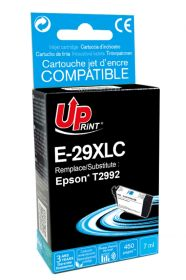 UPRINT/ QUALITE PREMIUM - UPrint 29XL Cyan (7 ml) Cartouche remanufacturée Epson Qualité Premium