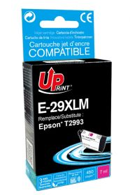 UPRINT/ QUALITE PREMIUM - UPrint 29XL Magenta (7 ml) Cartouche remanufacturée Epson Qualité Premium