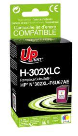 UPRINT - UPrint 302XL Couleurs (18 ml) Cartouche  remanufacturée HP Qualité Premium