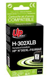 UPRINT - UPrint 302XL Noir (20 ml) Cartouche  remanufacturée HP Qualité Premium
