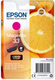 EPSON ORIGINAL - Epson 33 magenta (4,5 ml) Cartouche de marque T3343