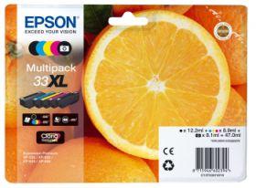 EPSON ORIGINAL - Epson 33XL Multipack 5 cartouches de marque T3357 (47 ml)