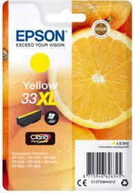 EPSON ORIGINAL - Epson 33XL jaune (8,9 ml) Cartouche de marque T3364