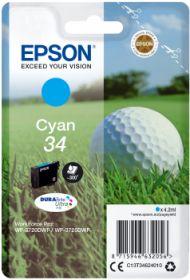 EPSON ORIGINAL - Epson 34 cyan (4,2 ml) Cartouche de marque T3462