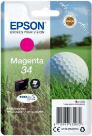 EPSON ORIGINAL - Epson 34 magenta (4,2 ml) Cartouche de marque T3463