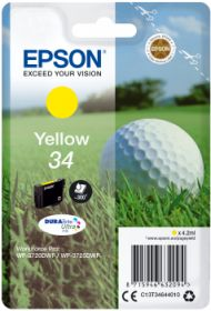 EPSON ORIGINAL - Epson 34 jaune (4,2 ml) Cartouche de marque T3464