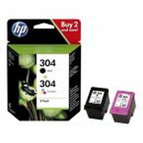 HP ORIGINAL - HP 304 / 3JB05AE Pack de 2 cartouches de marque noir et couleur en promotion