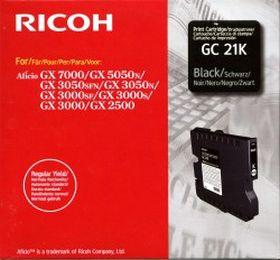 RICOH ORIGINAL - Ricoh GC-21 Noir (1500 pages) Cartouche gel de marque