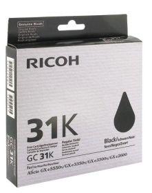 RICOH ORIGINAL - Ricoh GC-31 Noir (2000 pages) Cartouche gel de marque