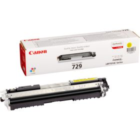 CANON ORIGINAL - Canon 729 Jaune (1000 pages) Toner de marque