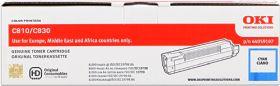 OKI ORIGINAL - OKI 44059107 Cyan (8000 pages) Toner de marque