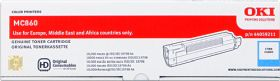OKI ORIGINAL - OKI 44059211 Cyan (10000 pages) Toner de marque