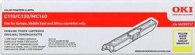 OKI ORIGINAL - OKI 44250717 Jaune (1500 pages) Toner de marque