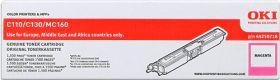 OKI ORIGINAL - OKI 44250718 Magenta (1500 pages) Toner de marque
