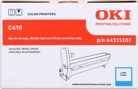 OKI ORIGINAL - OKI 44315107 Cyan (20000 pages) Tambour de marque