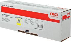 OKI ORIGINAL - OKI 44315305 Jaune (6000 pages) Toner de marque