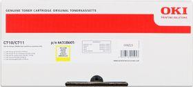 OKI ORIGINAL - OKI 44318605 Jaune (11500 pages) Toner de marque