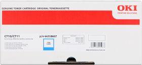 OKI ORIGINAL - OKI 44318607 Cyan (11500 pages) Toner de marque