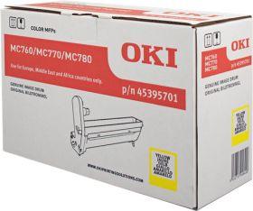 OKI ORIGINAL - OKI 45395701 Jaune (30000 pages) Tambour de marque