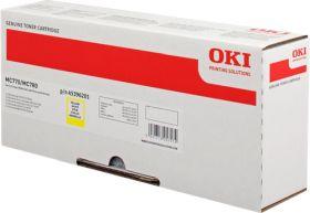 OKI ORIGINAL - OKI 45396201 Jaune (11500 pages) Toner de marque