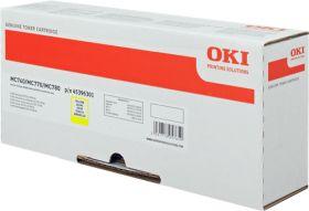 OKI ORIGINAL - OKI 45396301 Jaune (6000 pages) Toner de marque