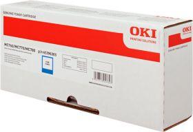 OKI ORIGINAL - OKI 45396303 Cyan (6000 pages) Toner de marque
