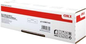 OKI ORIGINAL - OKI 45807102 Noir (3000 pages) Toner de marque