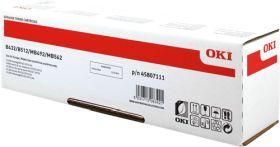 OKI ORIGINAL - OKI 45807111 Noir (12000 pages) Toner de marque