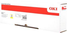 OKI ORIGINAL - OKI 45862814 Jaune (10000 pages) Toner de marque