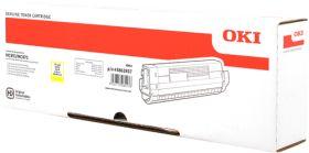 OKI ORIGINAL - OKI 45862837 Jaune (7300 pages) Toner de marque