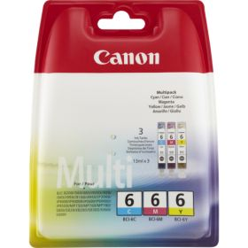 CANON ORIGINAL - Canon BCI-6 Multipack de cartouches Cyan, Magenta, Jaune