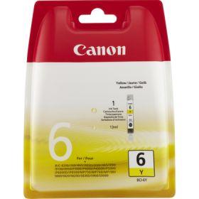 CANON ORIGINAL - Canon BCI-6 jaune (13 ml) Cartouche de marque 4708A002
