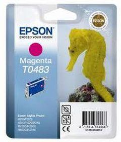 EPSON ORIGINAL - Epson T0483 Magenta (13 ml) Cartouche de marque