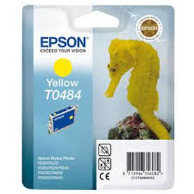 EPSON ORIGINAL - Epson T0484 Jaune (13 ml) Cartouche de marque