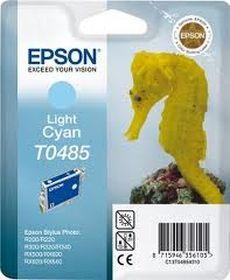EPSON ORIGINAL - Epson T0485 Cyan Clair (13 ml) Cartouche de marque