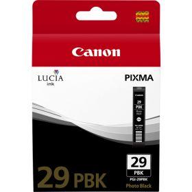 CANON ORIGINAL - Canon PGI-29PBK Noir Photo Cartouche de marque