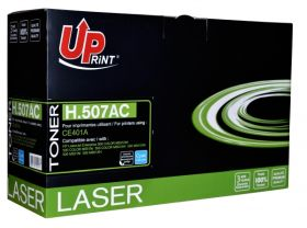 UPRINT - UPrint 507A / CE401A Cyan (6000 pages) Toner remanufacturé HP Qualité Premium