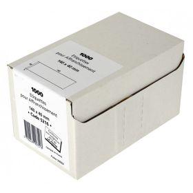 ETIQUETTES - 140 x 40mm - Boîte de 1000 étiquettes d'affranchissement simple blanches