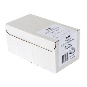 ETIQUETTES - 170 x 45mm - Boîte de 1000 étiquettes d'affranchissement simple blanches