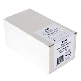 ETIQUETTES - 140 x 90 (2x45mm) - Boîte de 1000 étiquettes d'affranchissement double blanches