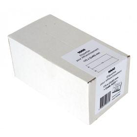 ETIQUETTES - 175 x 90 (2x45mm) - Boîte de 1000 étiquettes d'affranchissement double blanches