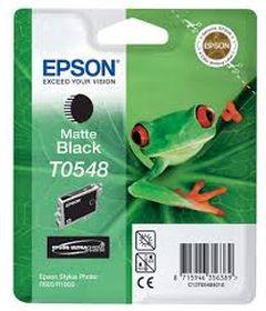 EPSON ORIGINAL - Epson T0548 Noir Mat (13 ml) Cartouche de marque