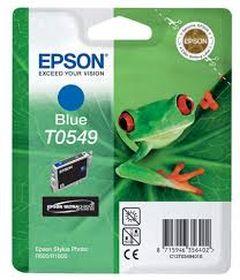 EPSON ORIGINAL - Epson T0549 Bleu (13 ml) Cartouche de marque