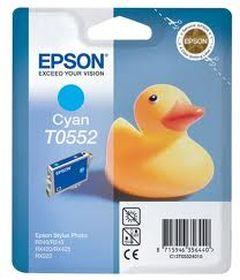 EPSON ORIGINAL - Epson T0552 Cyan (8 ml) Cartouche de marque