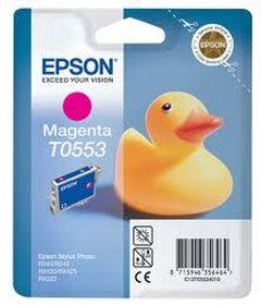 EPSON ORIGINAL - Epson T0553 Magenta (8 ml) Cartouche de marque