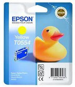 EPSON ORIGINAL - Epson T0554 Jaune (8 ml) Cartouche de marque