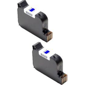 RECYCLE FRANCOTYP POSTALIA - 580052302600 - Cartouches remanufacturées FP PostBase (puce intégrée) - Capacité 2 x 42ml