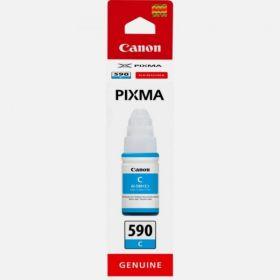 CANON ORIGINAL - Canon GI-590 Cyan (70 ml) Bouteille d'encre de marque