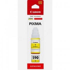 CANON ORIGINAL - Canon GI-590 Jaune (70 ml) Bouteille d'encre de marque