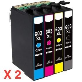 1 ACHETE = 1 OFFERT 603XL pack de 4 cartouches génériques